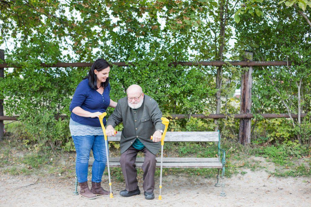 Physiotherapie in Ihrem gewohnten Umfeld